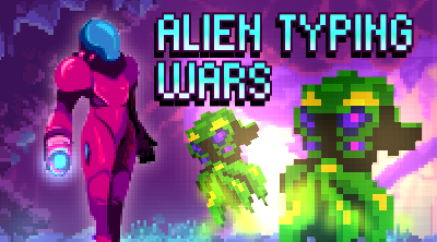 Alien Typing Wars