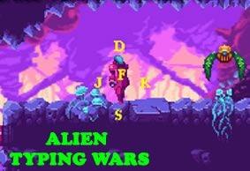 Alien Typing Wars BETA