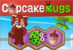 Image of: Wild Cupcake Bugs Throw Cupcake Party To Cheer Up Cute Little Lady Bugs Touchscreenmouse Compatible K5 Game By Typetastic Kid Activities Animal Games Typing Games Collection Typinggameszone