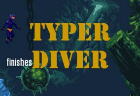 Typer Diver - Mine-sweeper