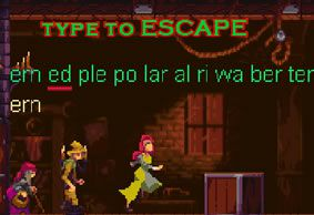 Type to Escape - Run 3 Away