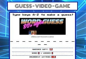 Guess Video Game