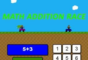 Math Addition Race