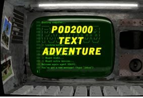 Pod2000 Text Adventure