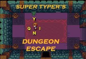 Super Typer Fast Dungeon Escape