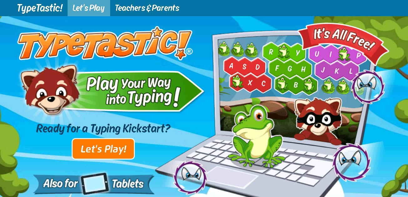 TypeTastic Typing Games