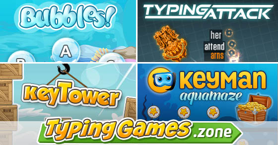 TypingGames Zone - 106 Fun Games for Keyboarding Online